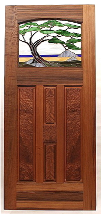 Click Here for a door in the style of · Frank Lloyd Wright This is called & Fine Custom Wood Doors ~ Offered For Sale