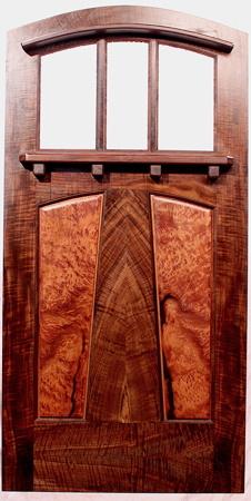 & The Paris Cabin Entrance Door