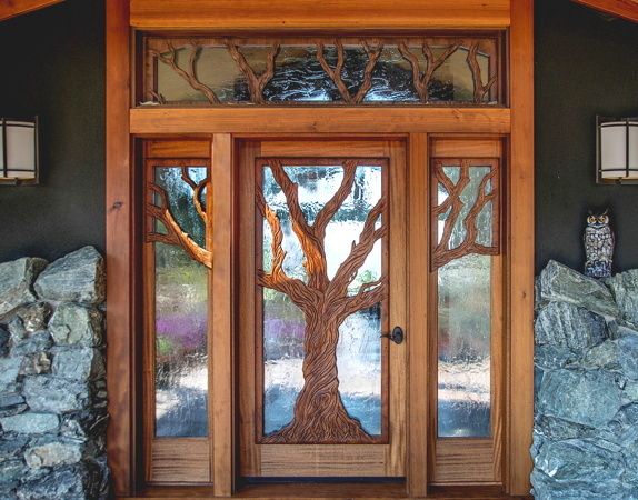 Redwood doors an insight into the different types of for Grand entrance doors
