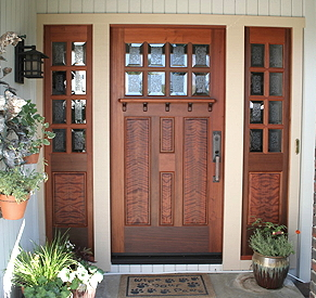 & Fine Custom Craftsman Doors by Mendocino Custom Doors