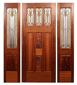 Fine Custom Prairie Style Doors By Mendocino Custom Doors