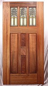 Fine Custom Prairie Style Doors By Mendocino Custom Doors