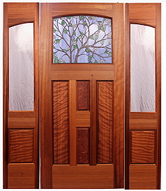 Unique customstained glass doors by mendocino custom doors the port hardy entry planetlyrics Choice Image