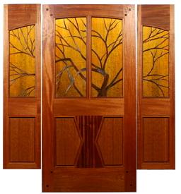 Unique customstained glass doors by mendocino custom doors planetlyrics Choice Image