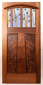 Unique Customstained Glass Doors By Mendocino Custom Doors