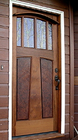 Fine Custom Craftsman Doors by Mendocino Custom Doors