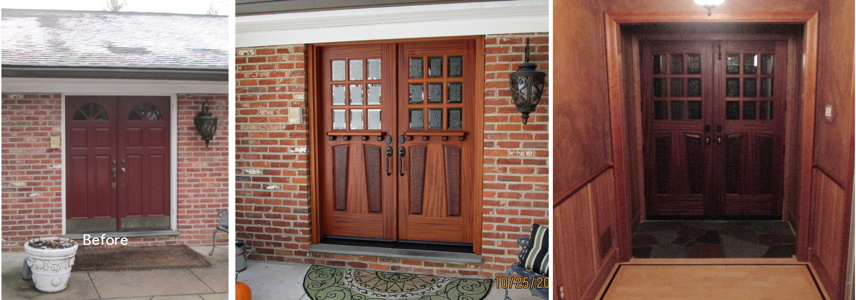 Here Are Some Of Our Doors Installed On Their Homes